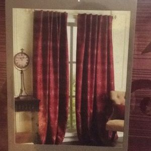 Pier 1 imports lined window panel NWT
